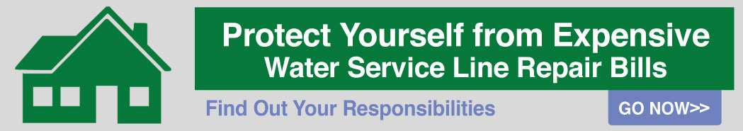 Protect yourself from expensive water service line repair bills - visit the website now!