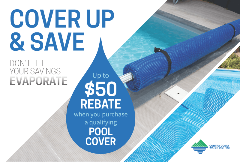 Pool Cover Rebate Banner