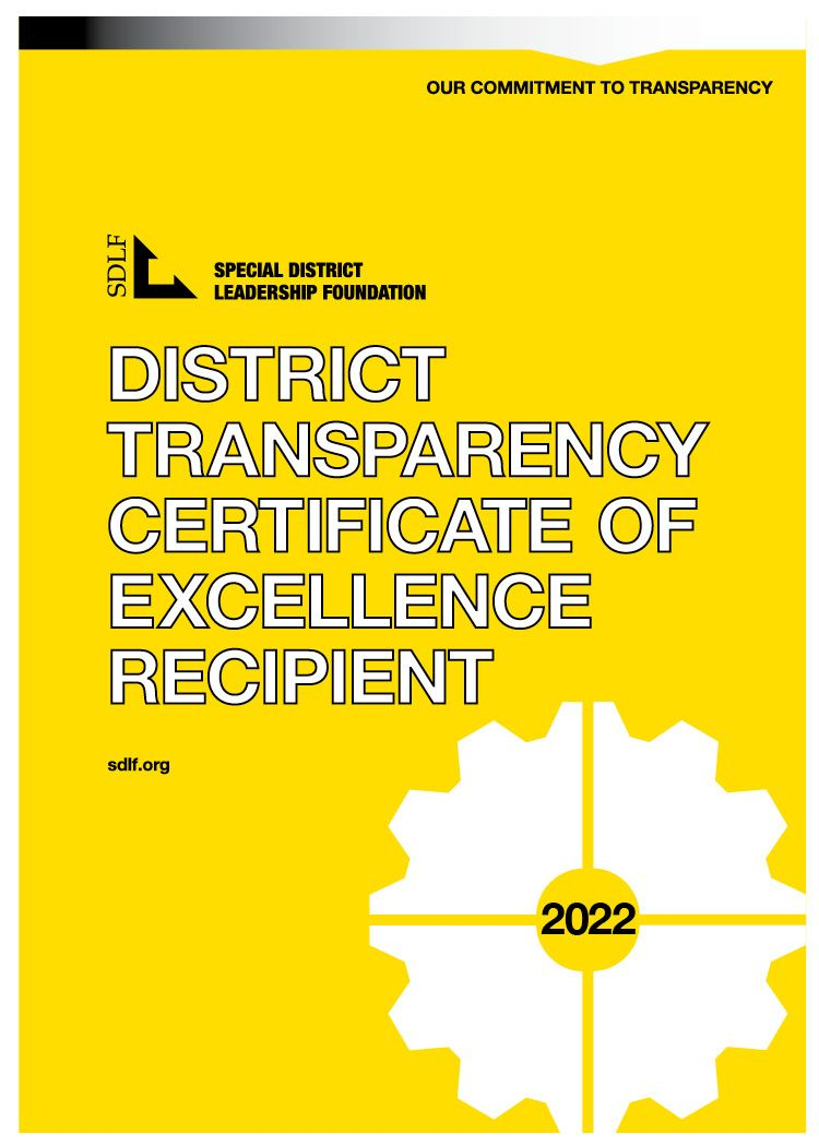 SDLF Transparency Certificate 2019